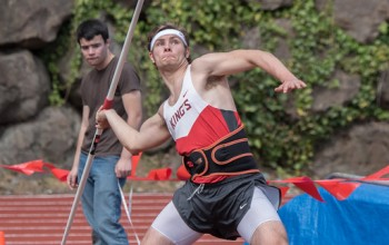 King's Invitational javelin